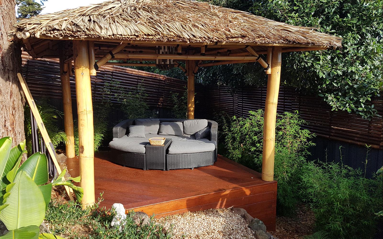 Balinese Hut Decking